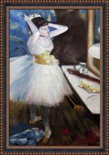 Dancer in Her Dressing Room Pre-Framed - 24
