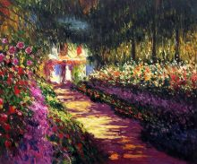 Pathway in Monet's Garden at Giverny - 24