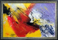 Abstract 96319012 Pre-Framed - 36