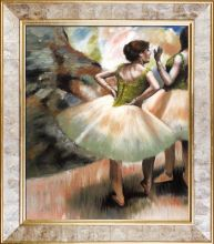 Dancers, Pink and Green Pre-Framed - 20