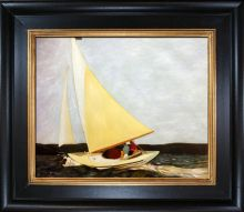 Sailing, 1911 Pre-Framed - 24