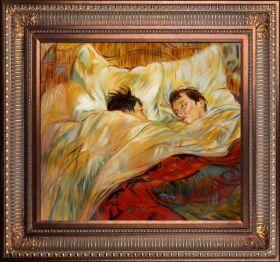 The Bed Pre-Framed