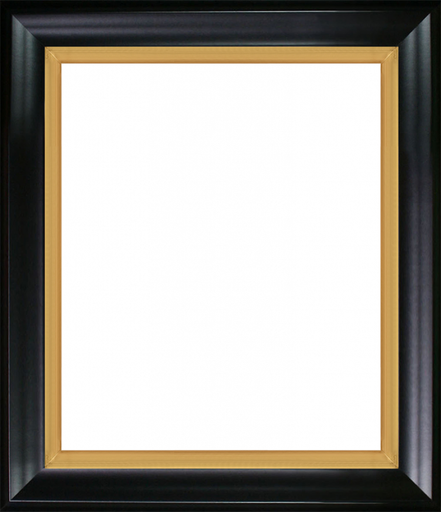 """Black Satin King and Burnished Gold Combo 20"""" X 24"""""""