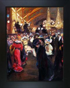 Le Bal au Moulin-Rouge Pre-Framed