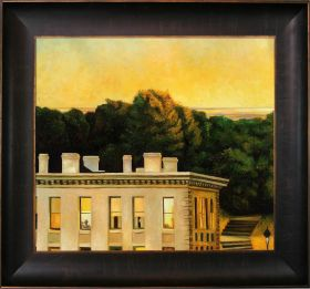 House At Dusk, 1935 Pre-Framed