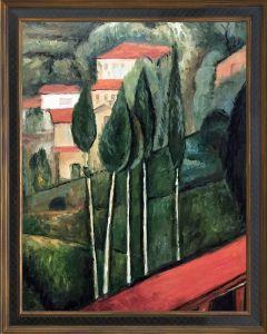 Landscape, Southern France Pre-Framed