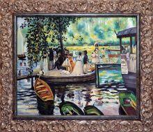 La Grenouillere (The Frog Pond) Pre-Framed - 24