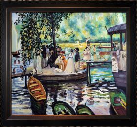La Grenouillere (The Frog Pond) Pre-Framed - 24