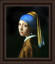 Girl with Pearl Earring Pre-Framed