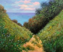 Path at La Cavee, Pourville - 20