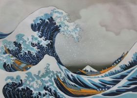 The Great Wave off Kanagawa - 36