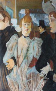 La Goulue arriving at the Moulin Rouge - 24