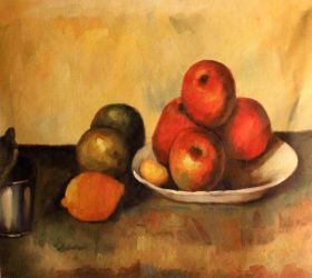 Still Life with Apples - 24