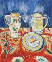 Still Life with Breton Pottery - 20
