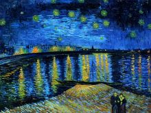 Starry Night Over the Rhone - 40