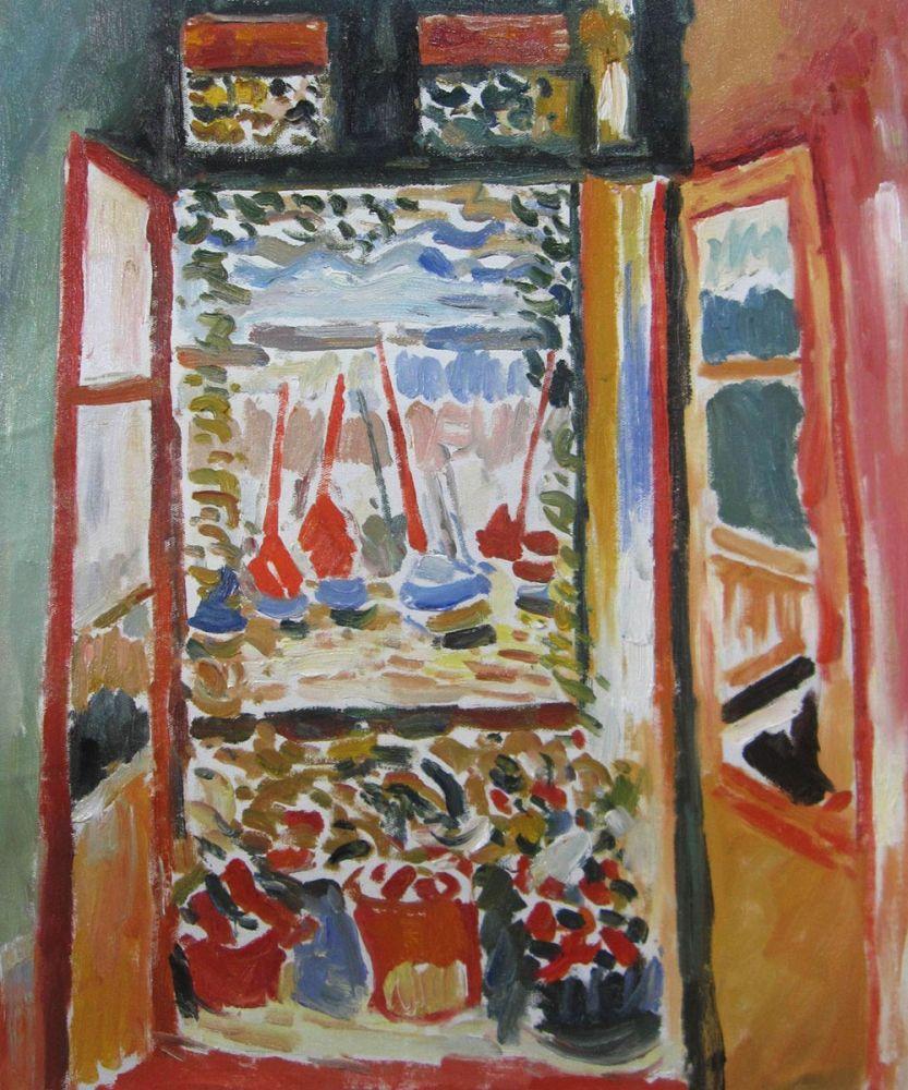 Open Window Collioure