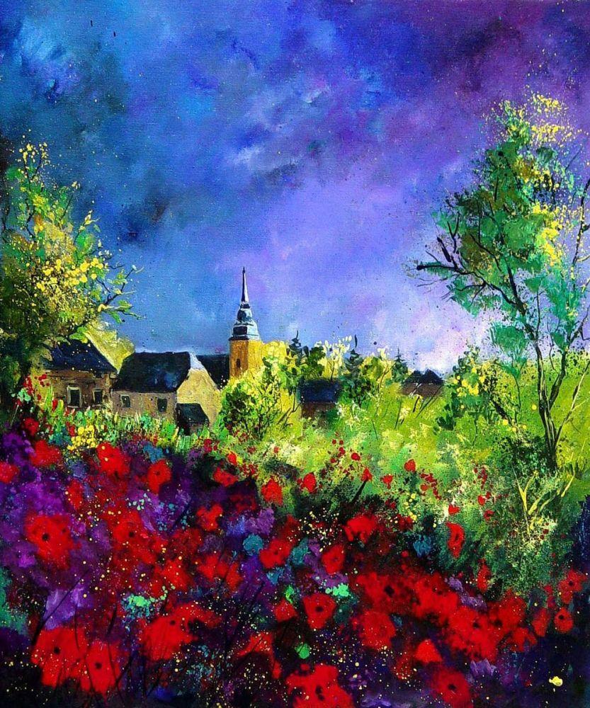 Poppies in Villers