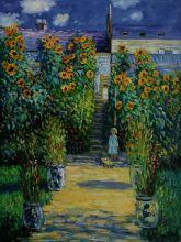 Artist's Garden at Vetheuil