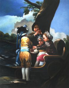 Children With A Cart - 20