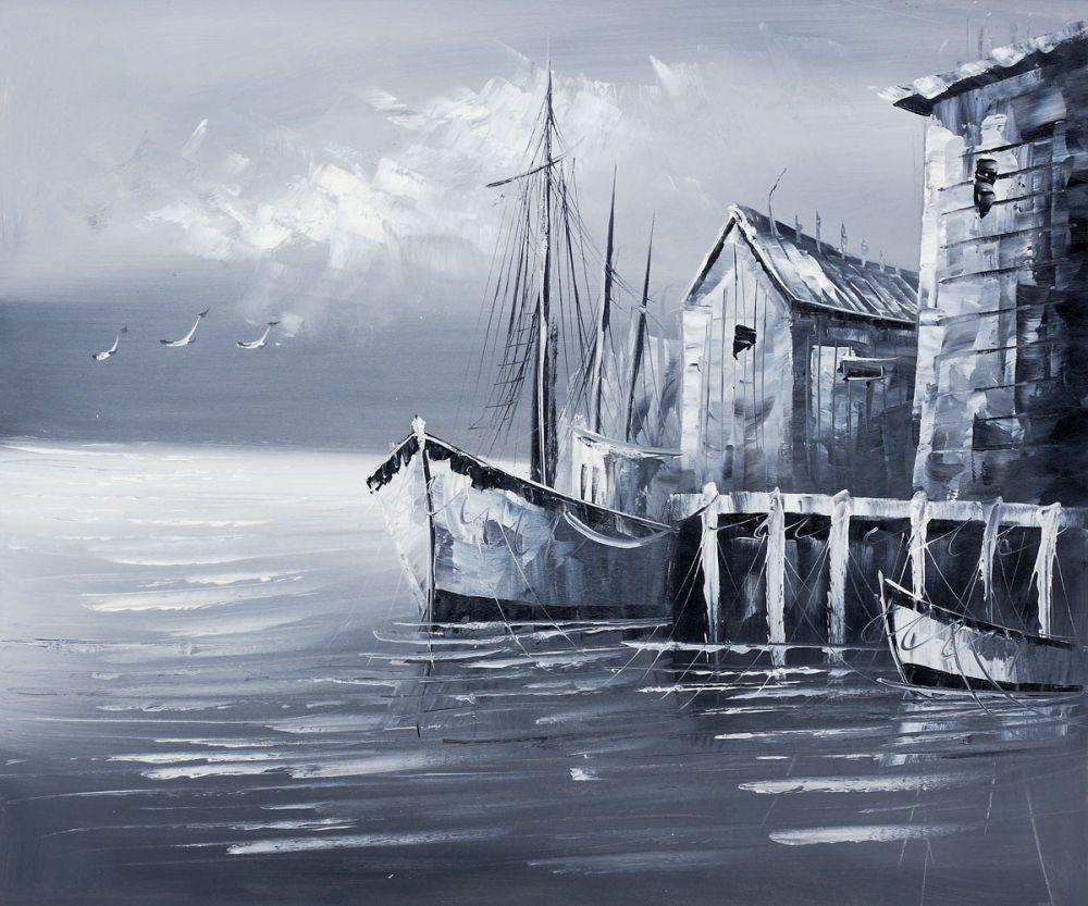 Fishing Boats (Evening Effect)