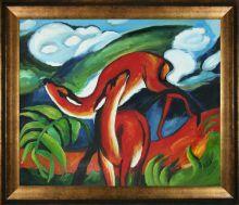 The Red Deer Pre-Framed - 24