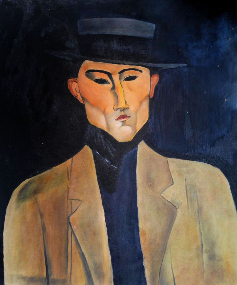 Portrait of a Man with Hat (Jose Pacheco )