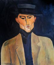 Portrait of a Man with Hat (Jose Pacheco ) - 20