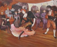 Marcelle Lender Dancing in the Bolero in Chilperic, 1895 - 24
