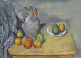 Pitchet et Fruits sur une Table - 24