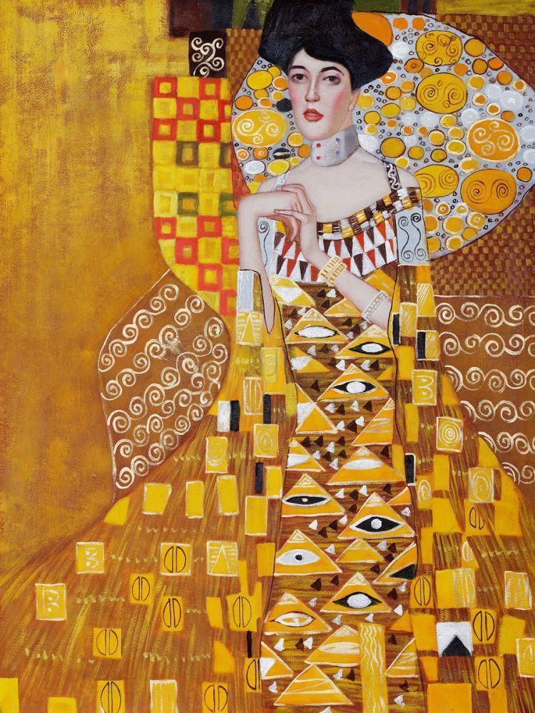 Portrait of Adele Bloch-Bauer I, 1907