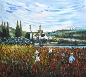Poppy Field near Vetheuil - 24