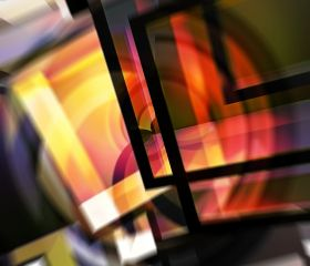 Abstract Composition 60