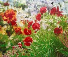 Floral Meadow Reproduction