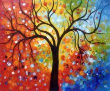 Rainbow Tree Reproduction