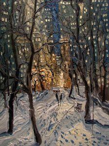 New York Winter Central Park