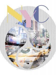 New York City Geometric Mix No 1
