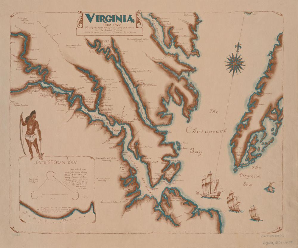 Virginia, 1602