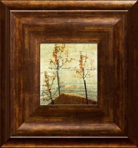 Autumn Trees Pre-Framed Miniature
