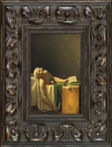 The Death of Marat Pre-Framed Miniature