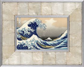 The Great Wave off Kanagawa Pre-Framed Miniature