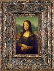 Mona Lisa Pre-Framed Miniature