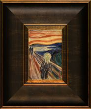 The Scream Pre-Framed Miniature