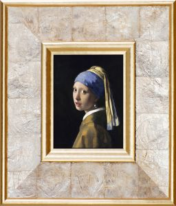 Girl with Pearl Earring Pre-Framed Miniature