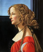 Portrait of Simonetta Vespucci