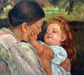Maternal Caress