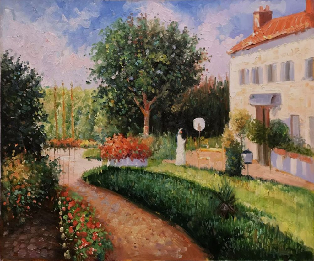 The Garden of Les Mathurins at Pontoise