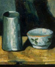 Still Life (Bowl and Milk Jug)