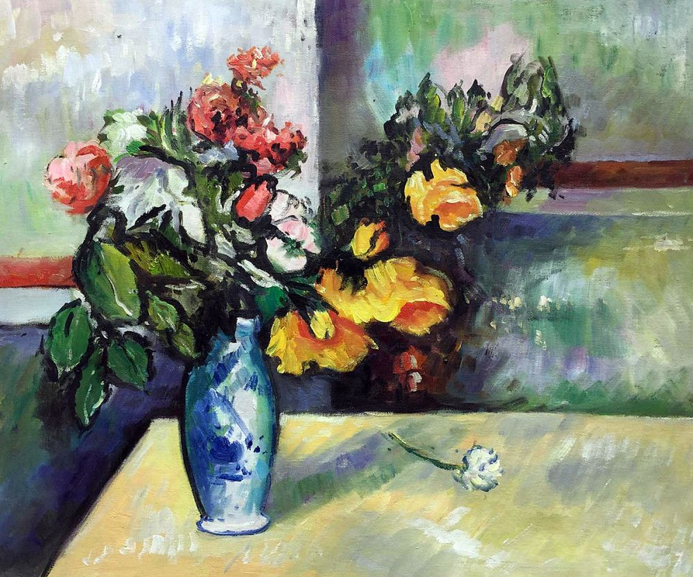 Still Life Flowers in Vase