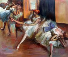 Ballet Rehearsal (detail)