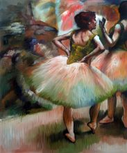 Dancers, Pink and Green